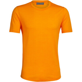 Icebreaker Sphere Crew Top T-shirt Heren, sun heather
